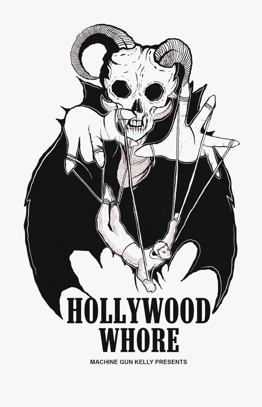 Hollywood Whore Machine Gun Kelly, HD Png Download, Free Download