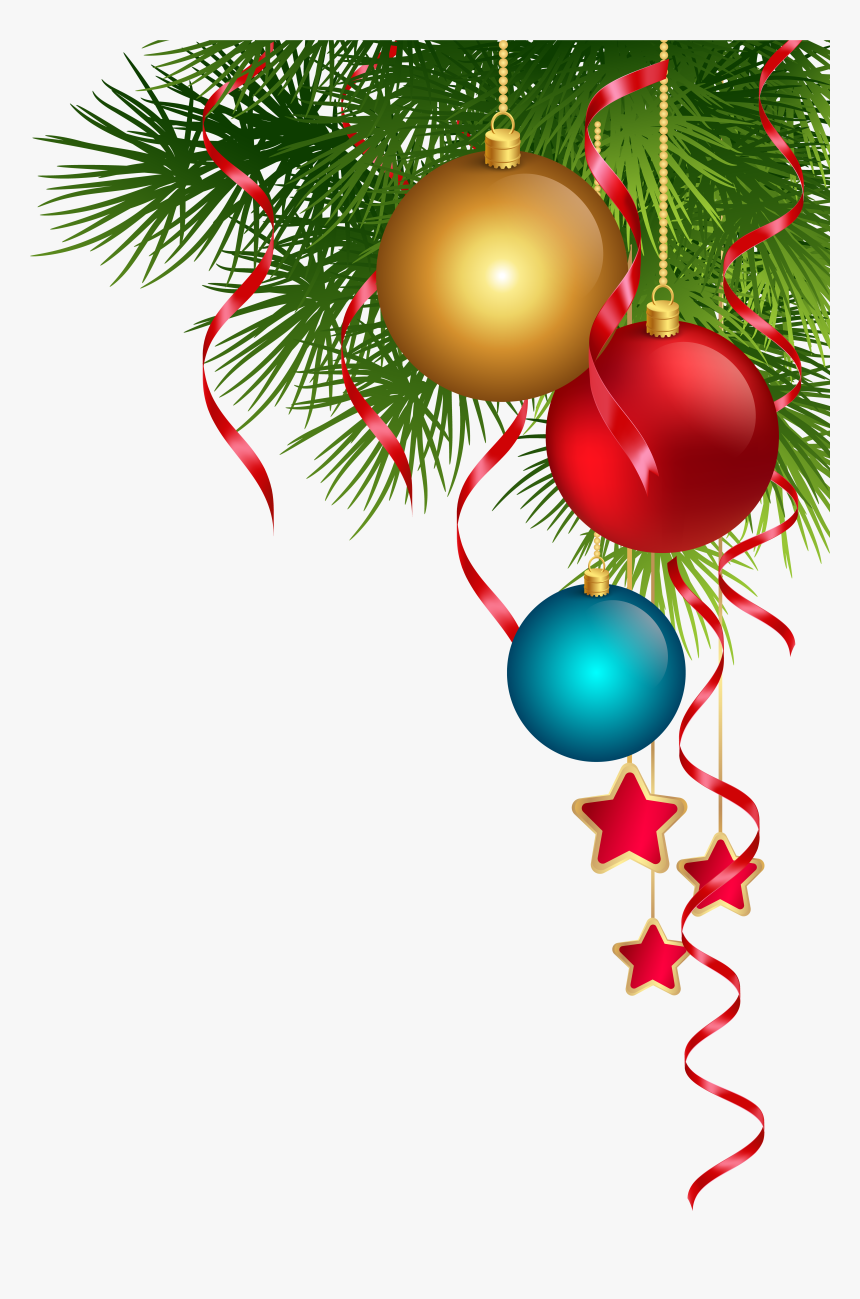 Christmas Ornament Christmas Lights Christmas Tree - Transparent Christmas Decorations Png, Png Download, Free Download