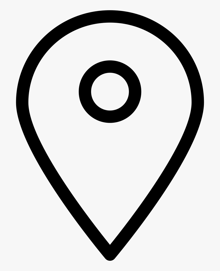 Loc - White Location Icon Transparent Background, HD Png Download, Free Download