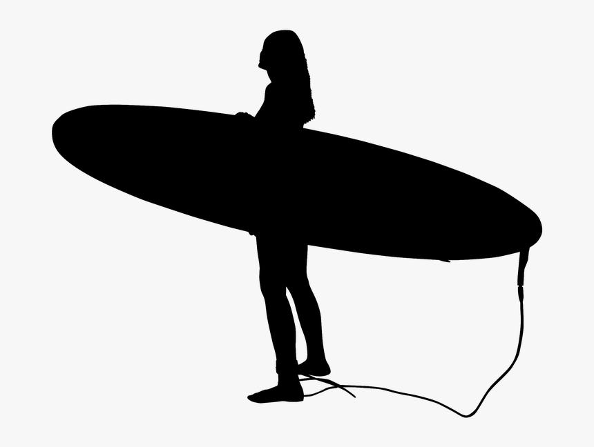 Surfer, Surf, Sea, Wave, Ocean, Water, Beach, Surfing - Surfboard, HD Png Download, Free Download