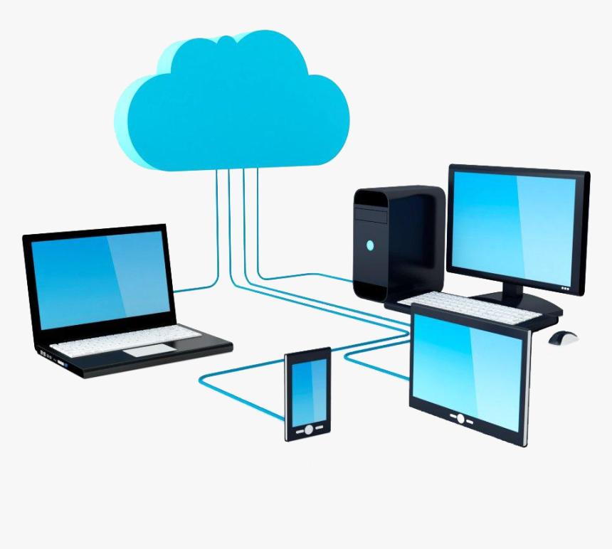 Computer Network Internet Clip Art - Computer Network Clip Art, HD Png Download, Free Download