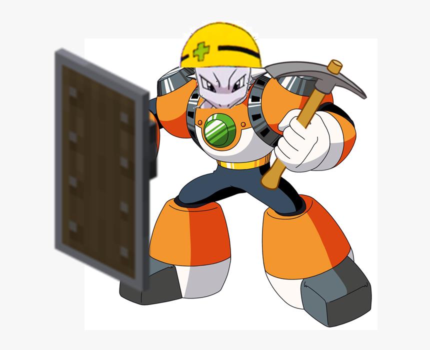 Concrete Man Mega Man, HD Png Download, Free Download