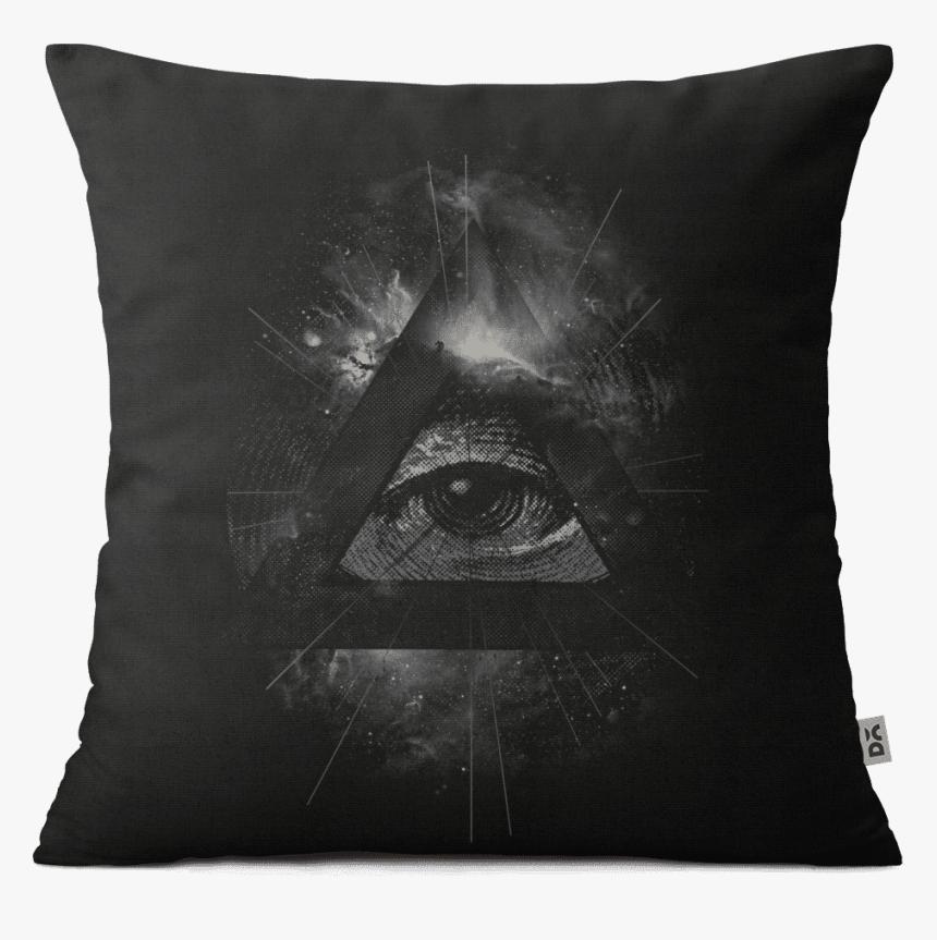 Dailyobjects Eye In Triangle - Illuminati Black, HD Png Download, Free Download