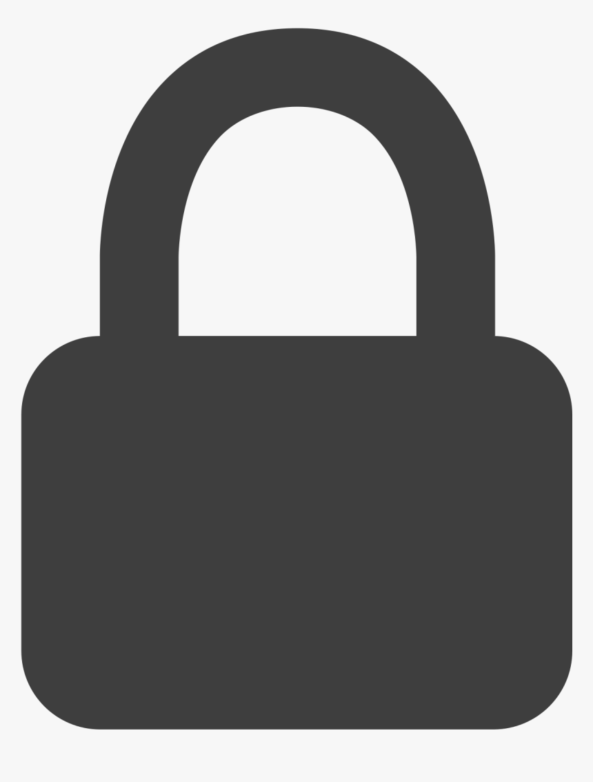 Facebook Lock Icon , Png Download - Facebook Lock Icon, Transparent Png, Free Download