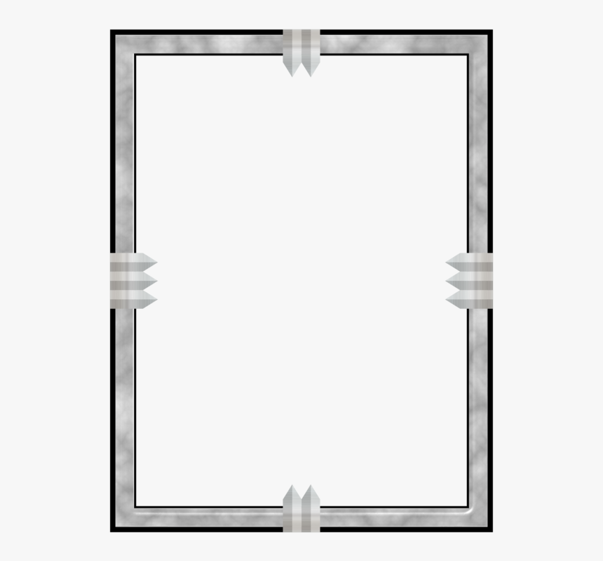 Picture Frames Computer Icons Decorative Arts Download - Metal Border Png, Transparent Png, Free Download