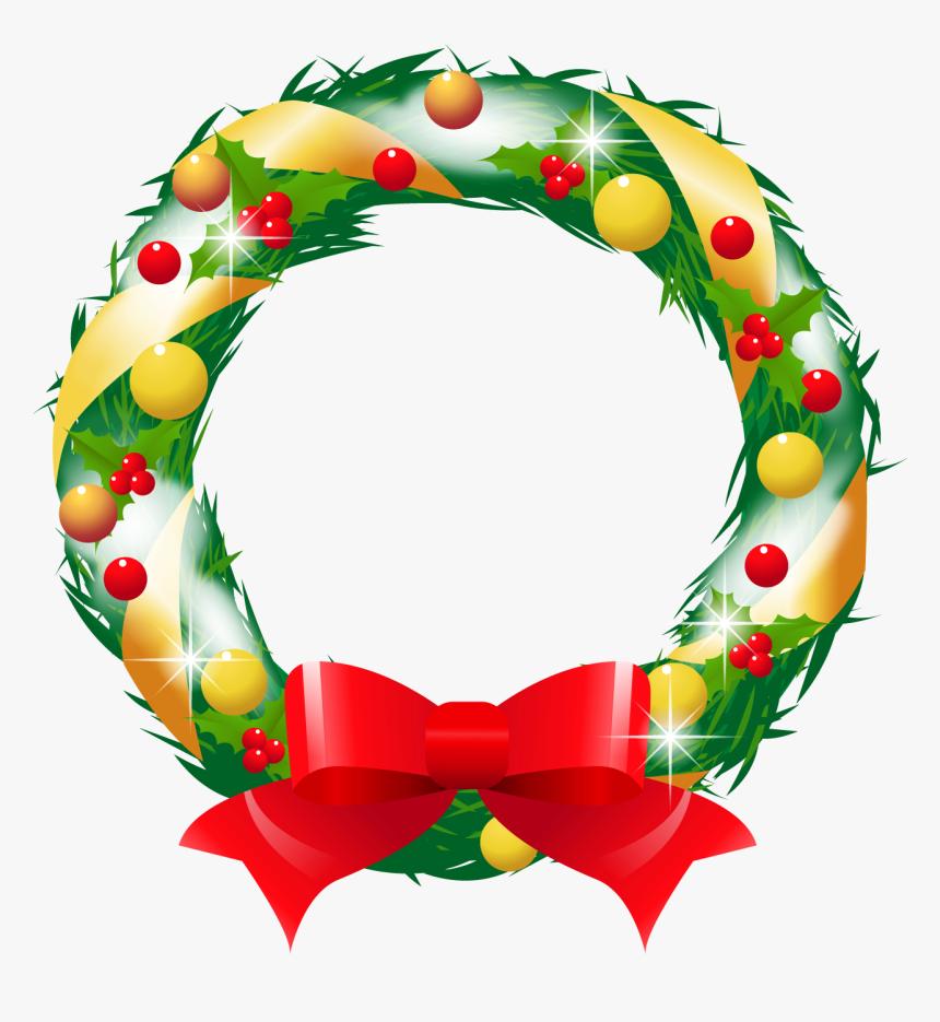 クリスマス リース イラスト 透過, HD Png Download, Free Download