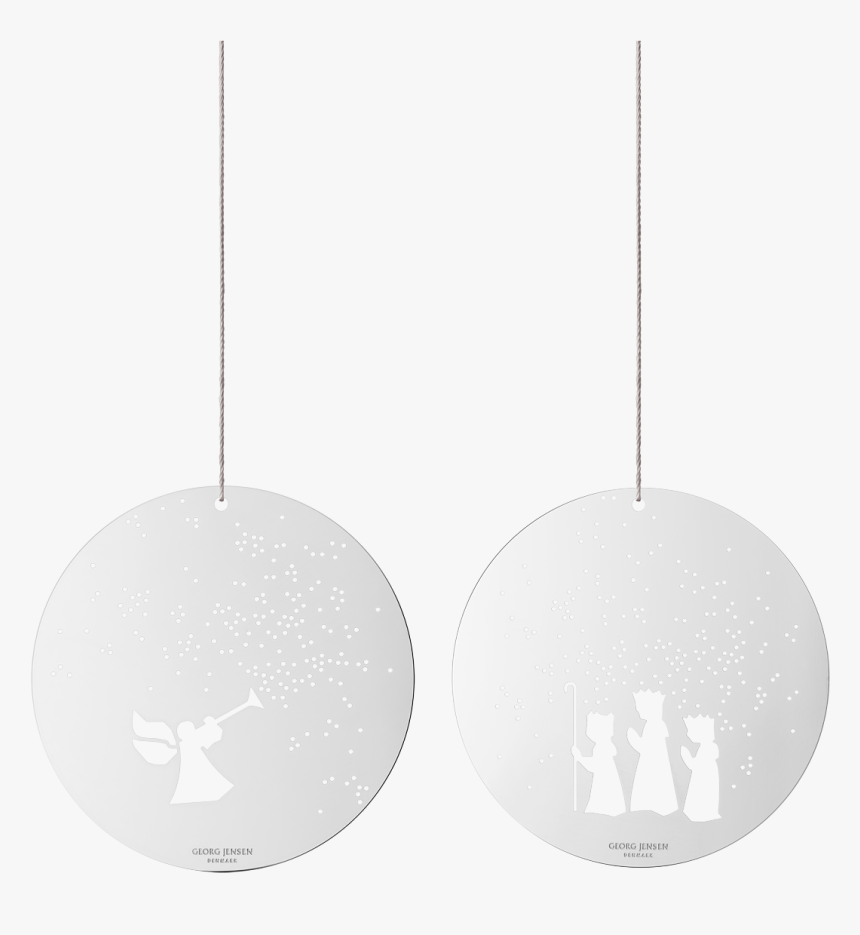 December Tales Ornaments, Angel And The 3 Wise Men, - Circle, HD Png Download, Free Download