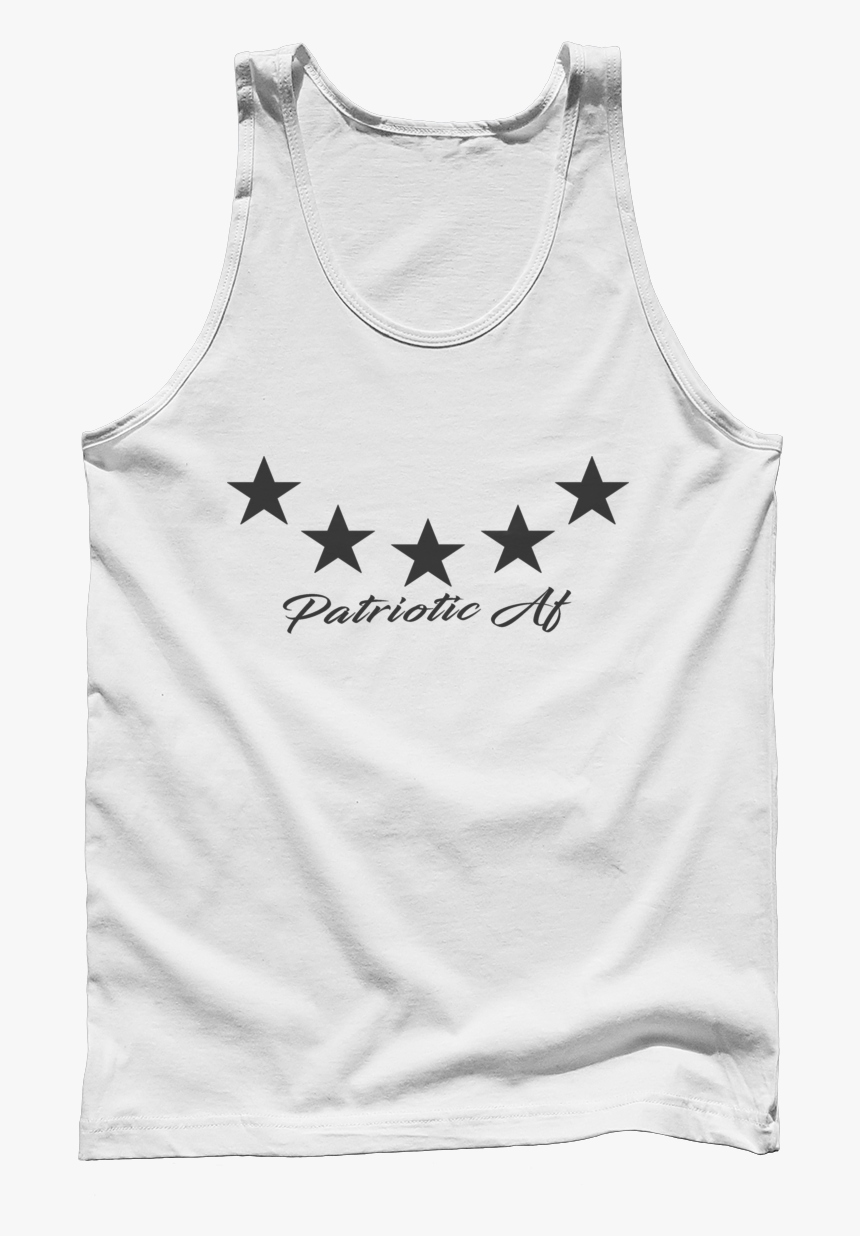 """Patriotic Af Stars Logo Men""""s Tank""""  Class= - Abolish Sleevery Shirt, HD Png Download, Free Download"""