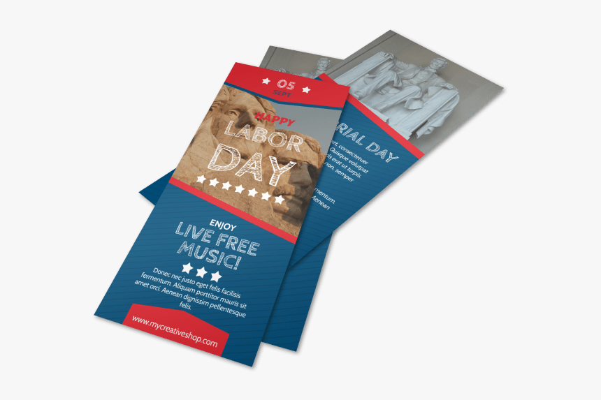 Happy Labor Day Flyer Template Preview - Flyer, HD Png Download, Free Download