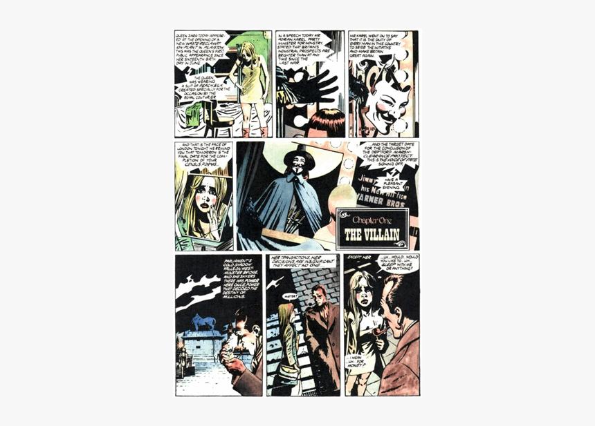 V De Vendetta Comic, HD Png Download, Free Download