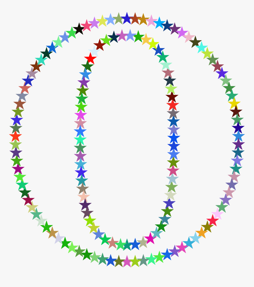 O Stars Clip Arts - Letter D With Stars, HD Png Download, Free Download