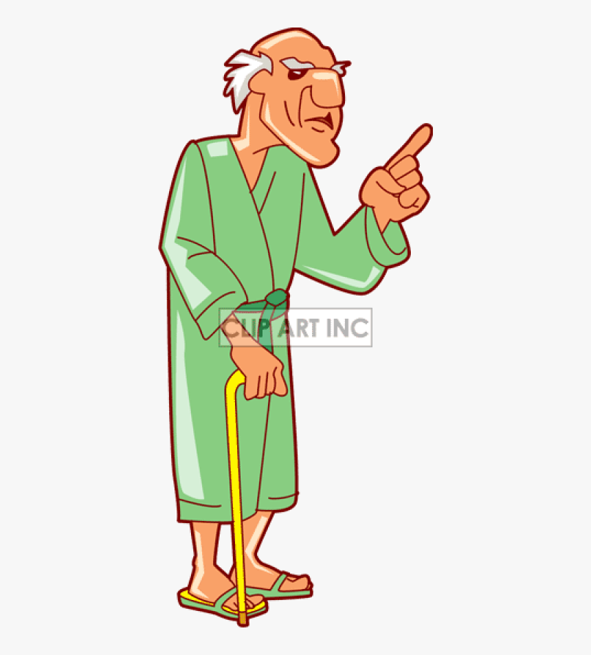 Old Man Angry Clipart, HD Png Download, Free Download