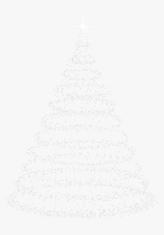 Deco Christmas Tree Transparent Clip Art Image - Christmas Tree Art Transparent, HD Png Download, Free Download