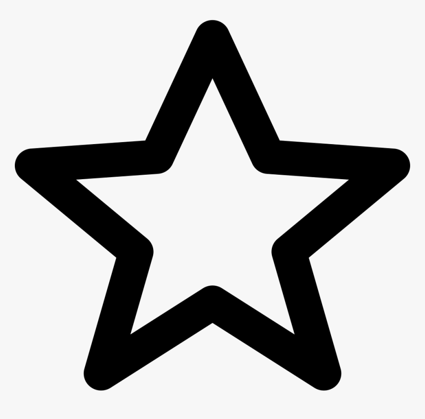 Star Line - Star Vector Icon Png, Transparent Png, Free Download