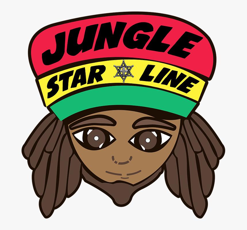 Jungle Star Line Logo-1 - Cartoon, HD Png Download, Free Download