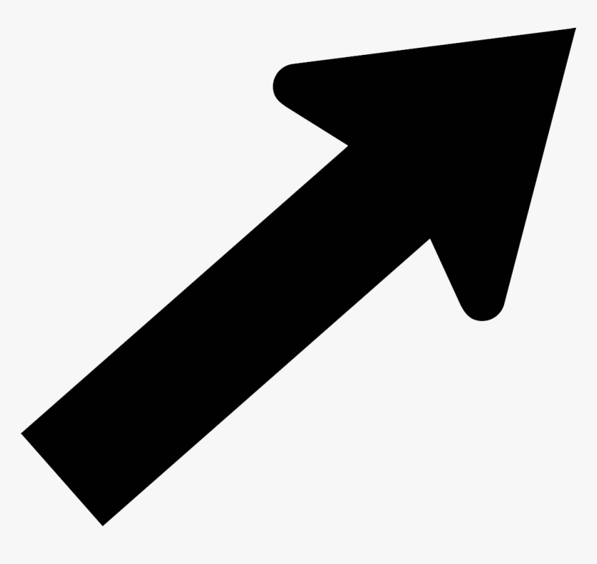 Arrow Pointing Diagonally Right, HD Png Download, Free Download