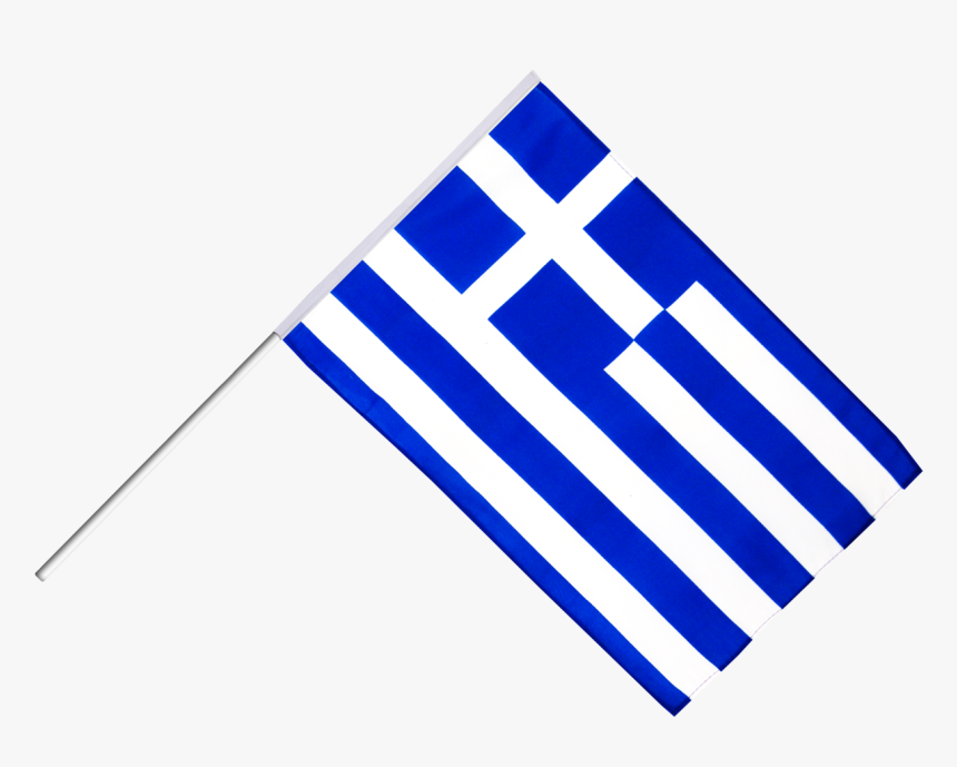 Greece Hand Waving Flag Argentina And Greek Flag Hd Png
