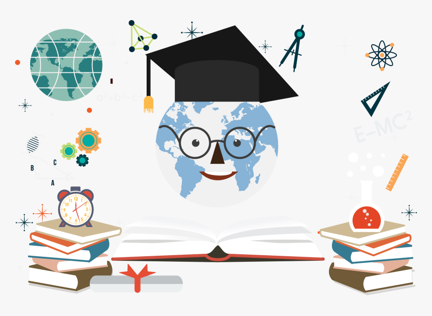 Student Education Bachelors Degree Course Educational Education Banner Background Hd Hd Png Download Kindpng