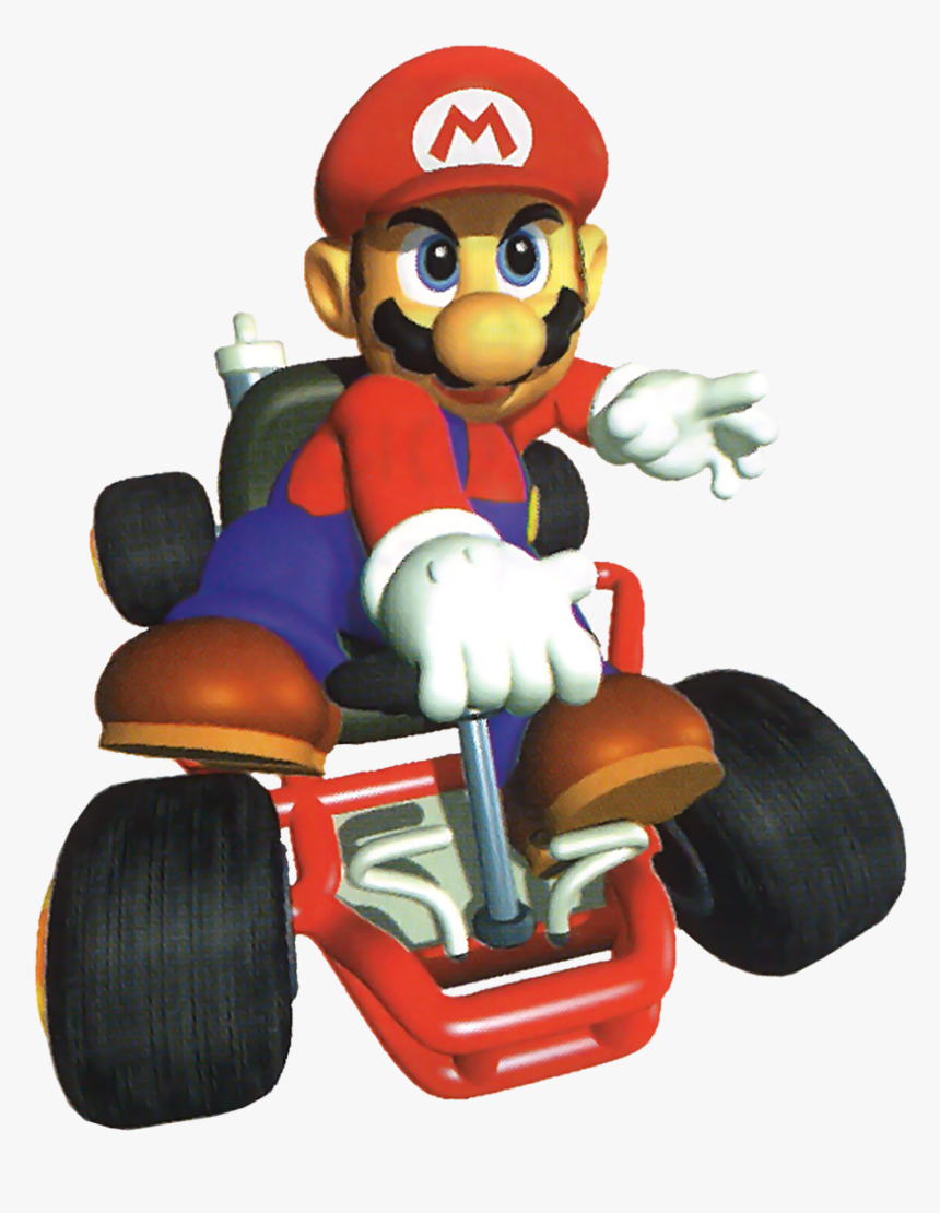 Mario Renders From Mario Kart Mario Kart 64 Mario Hd Png