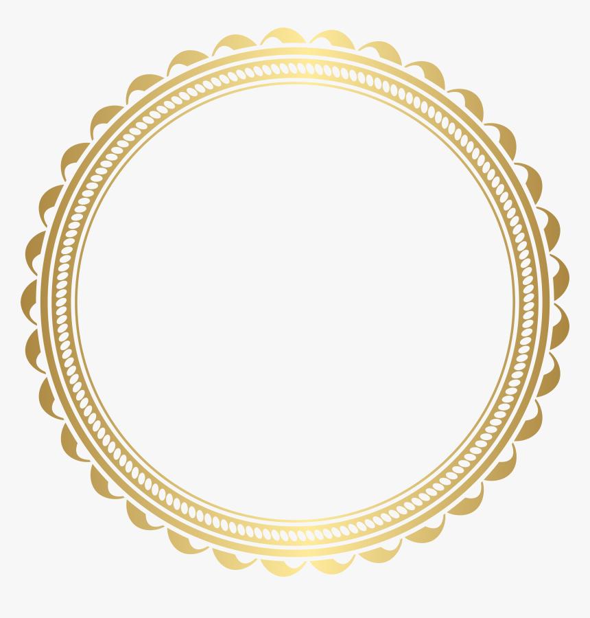 Border Frame Golden Png Transparent Image, Png Download, Free Download