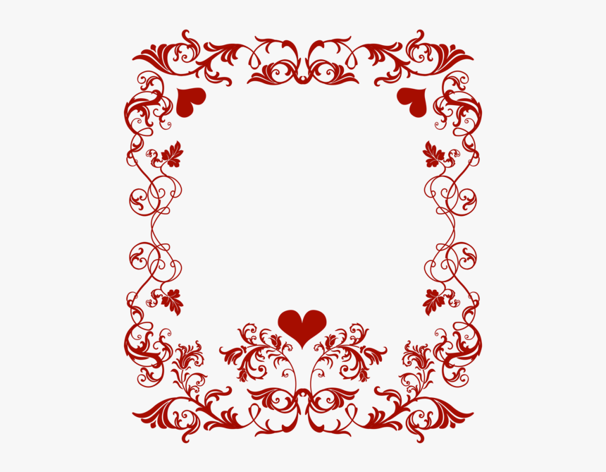 Valentine S Day Decorative - Border For Valentines Day, HD Png Download, Free Download