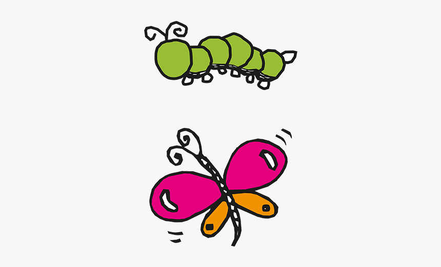 Cartoon Pictures Of Caterpillars And