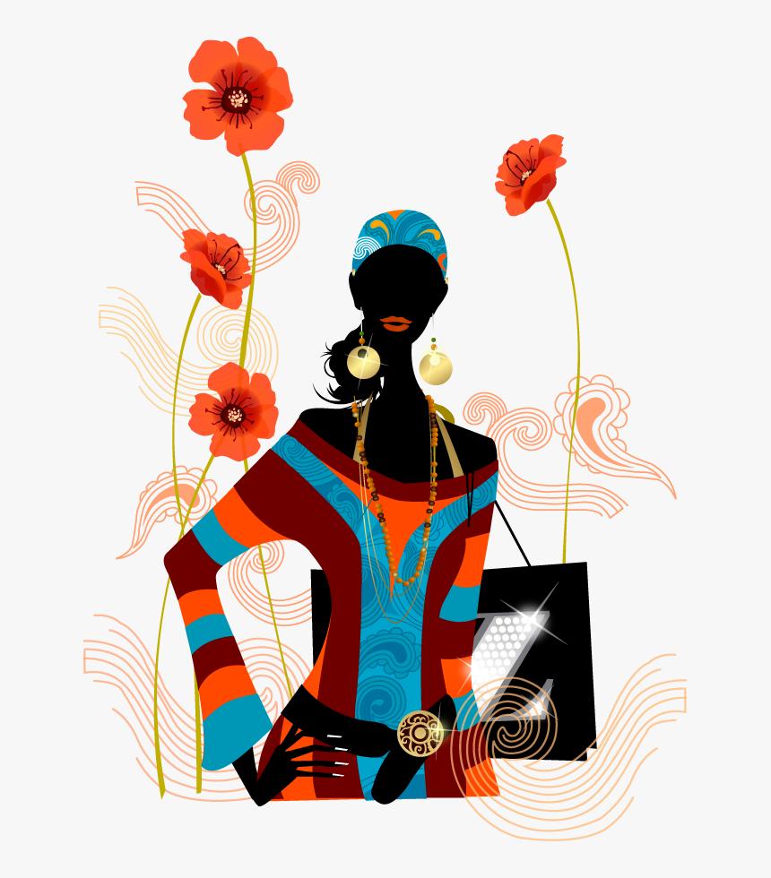 Fashion Vector Boy - Креативные Поздравления С 8 Марта, HD Png Download, Free Download