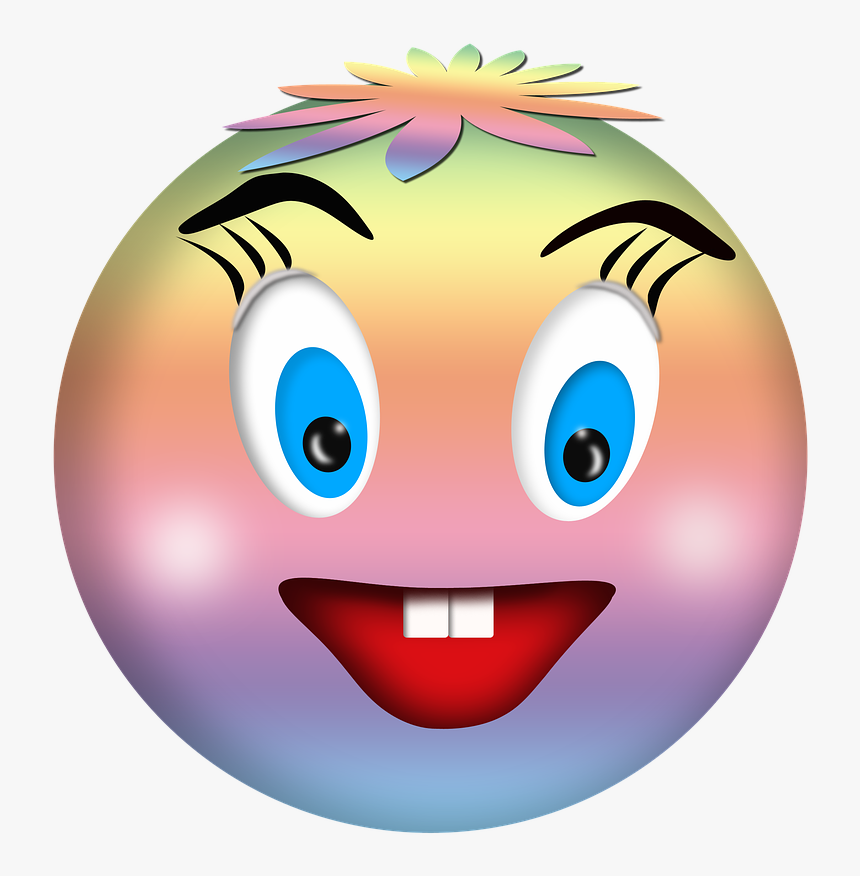 Smile A Cheerful Smile Wink Free Photo Clin D Oeil Hd Png Download Kindpng