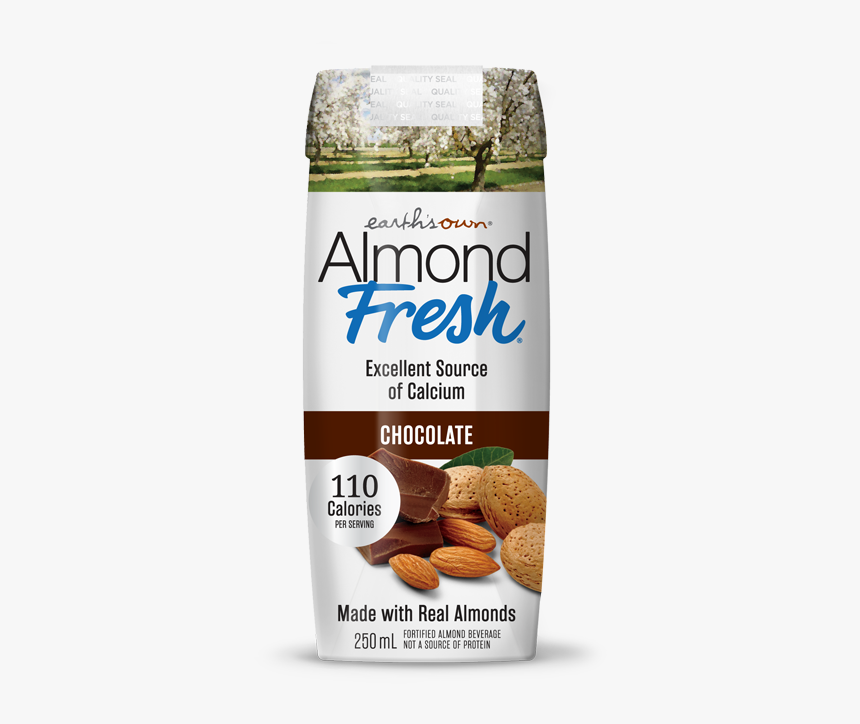 Earths Own Chocolate Almond Milk Plant Based Milk So - Almond Fresh, HD Png Download, Free Download