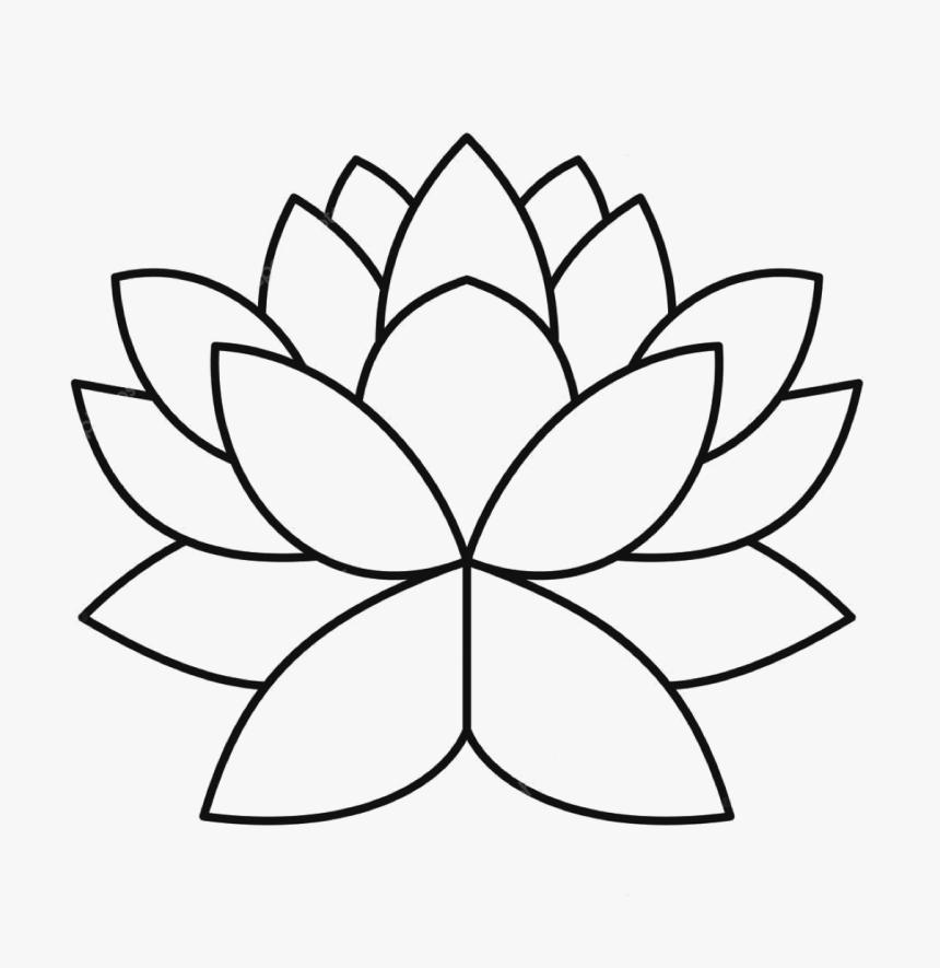 Yvonne Van Den Heuvel Simple Coloring Pages Flowers Hd Png Download Kindpng