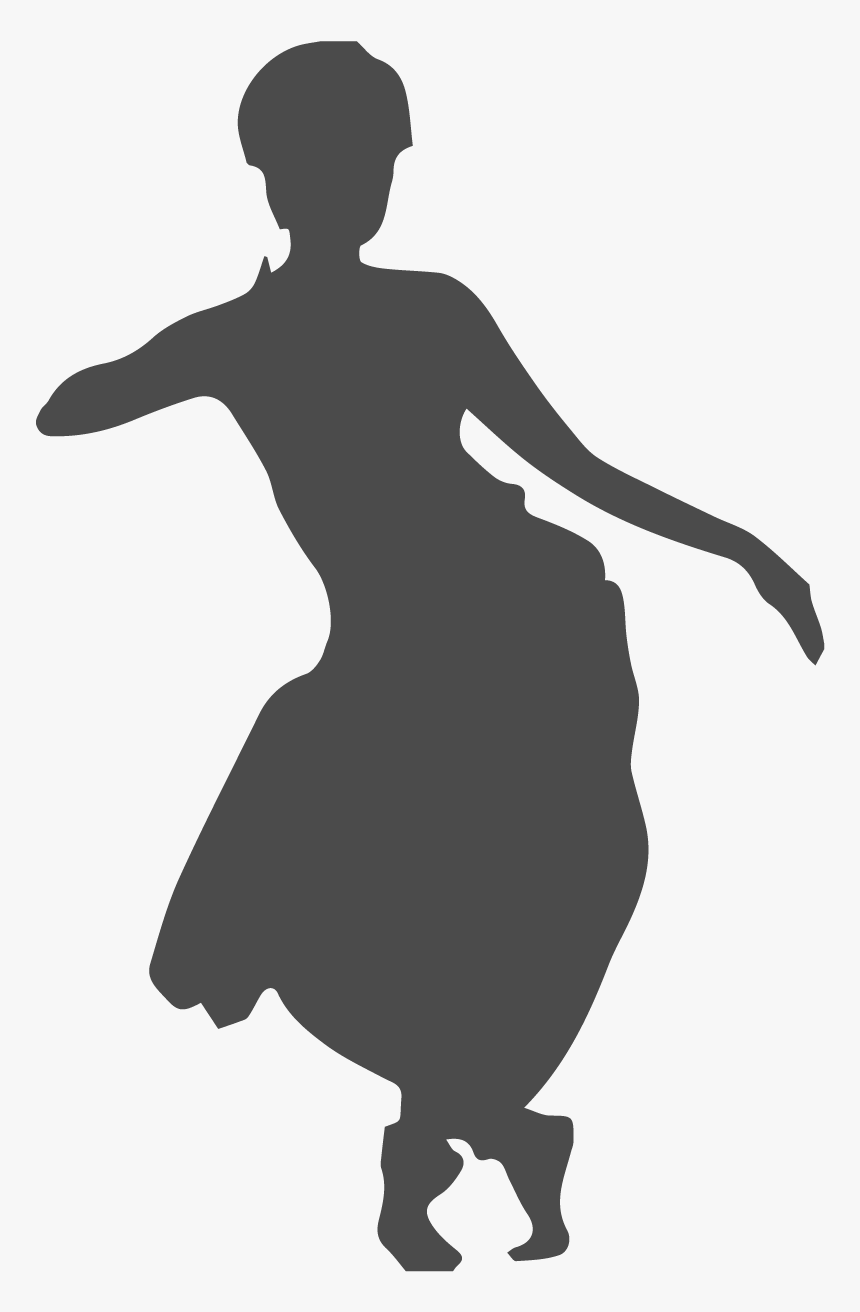 Indian Classical Dance Silhouette Hd Png Download Kindpng