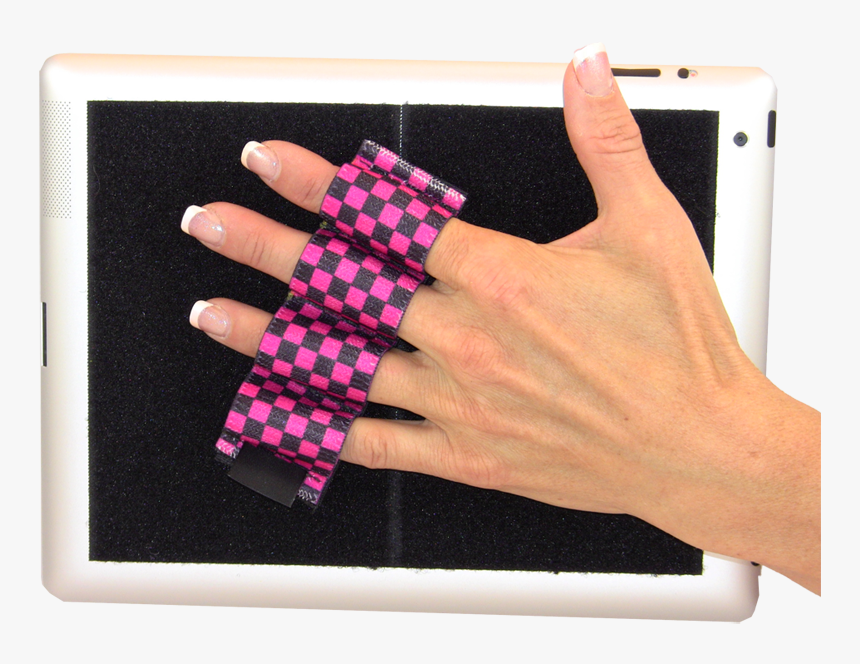 Heavy Duty 4-loop Grip For Ipad Or Large Tablet - Smartphone, HD Png Download, Free Download