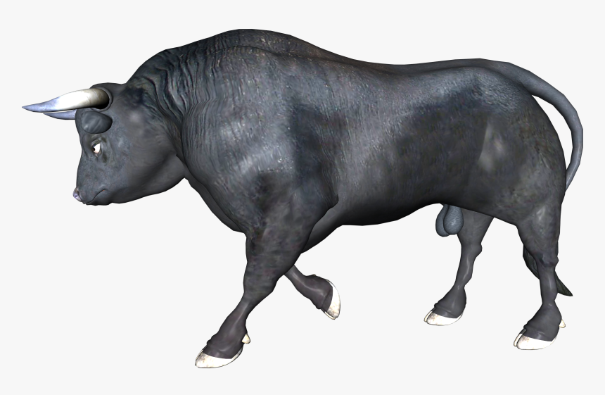 Zebu Ox Bull Water Buffalo - Buffalo Running Transparent, HD Png Download, Free Download