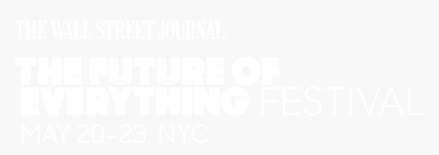 Caption,brand,graphics - Wall Street Journal Future Of Everything Festival, HD Png Download, Free Download