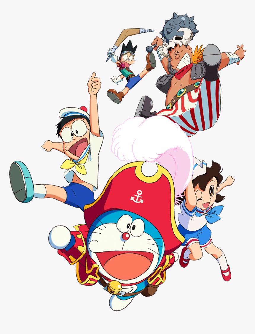 Doraemon Transparent Poster - Doraemon The Movie Png, Png Download, Free Download