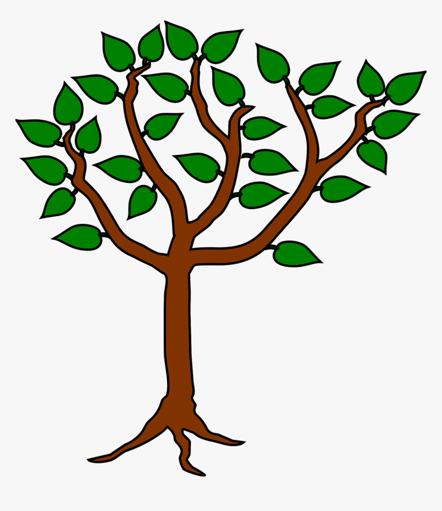 Tree Heraldic Symbol Design Icon Graphic Plant Plant