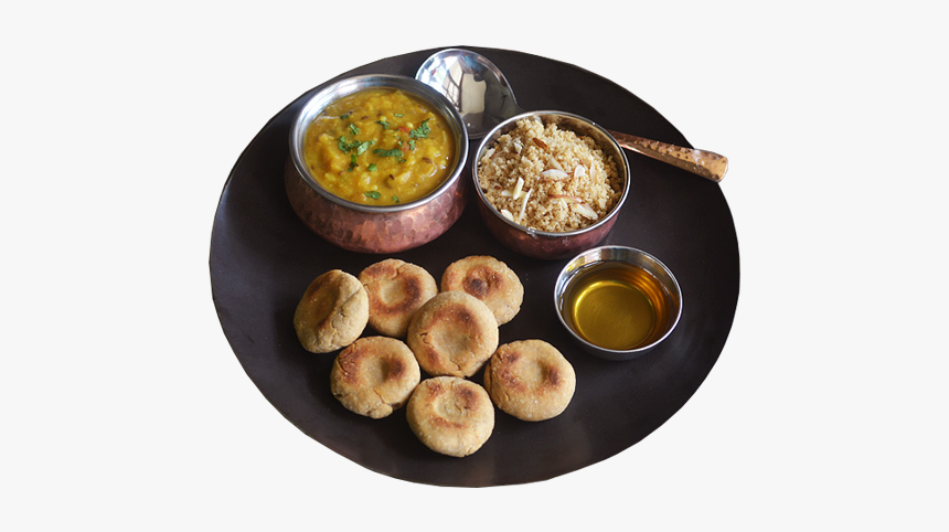 Dal Bati Churma In Udaipur - Traditional Famous Food In India, HD Png Download, Free Download