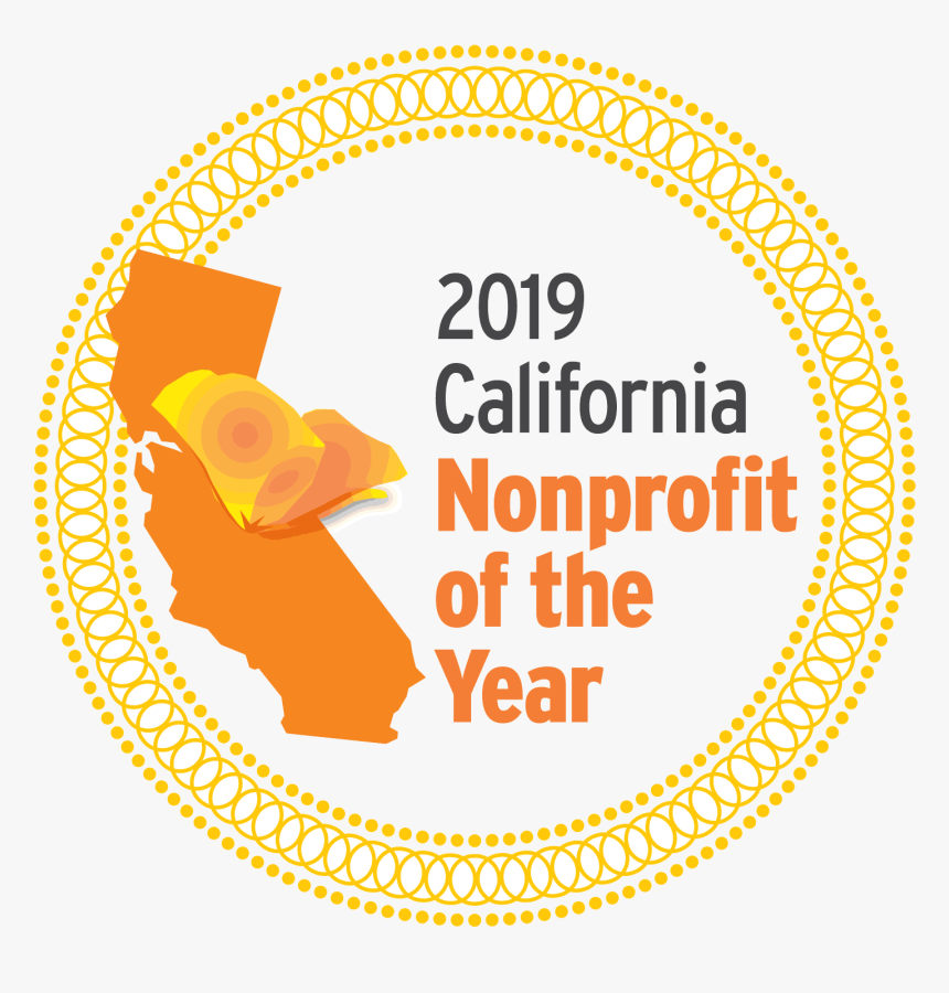 2018 California Nonprofit Of The Year, HD Png Download, Free Download