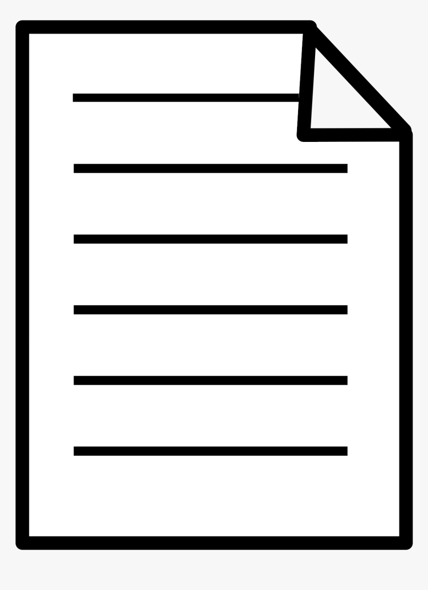 Square,angle,area - Transparent Background Document Icon, HD Png Download, Free Download