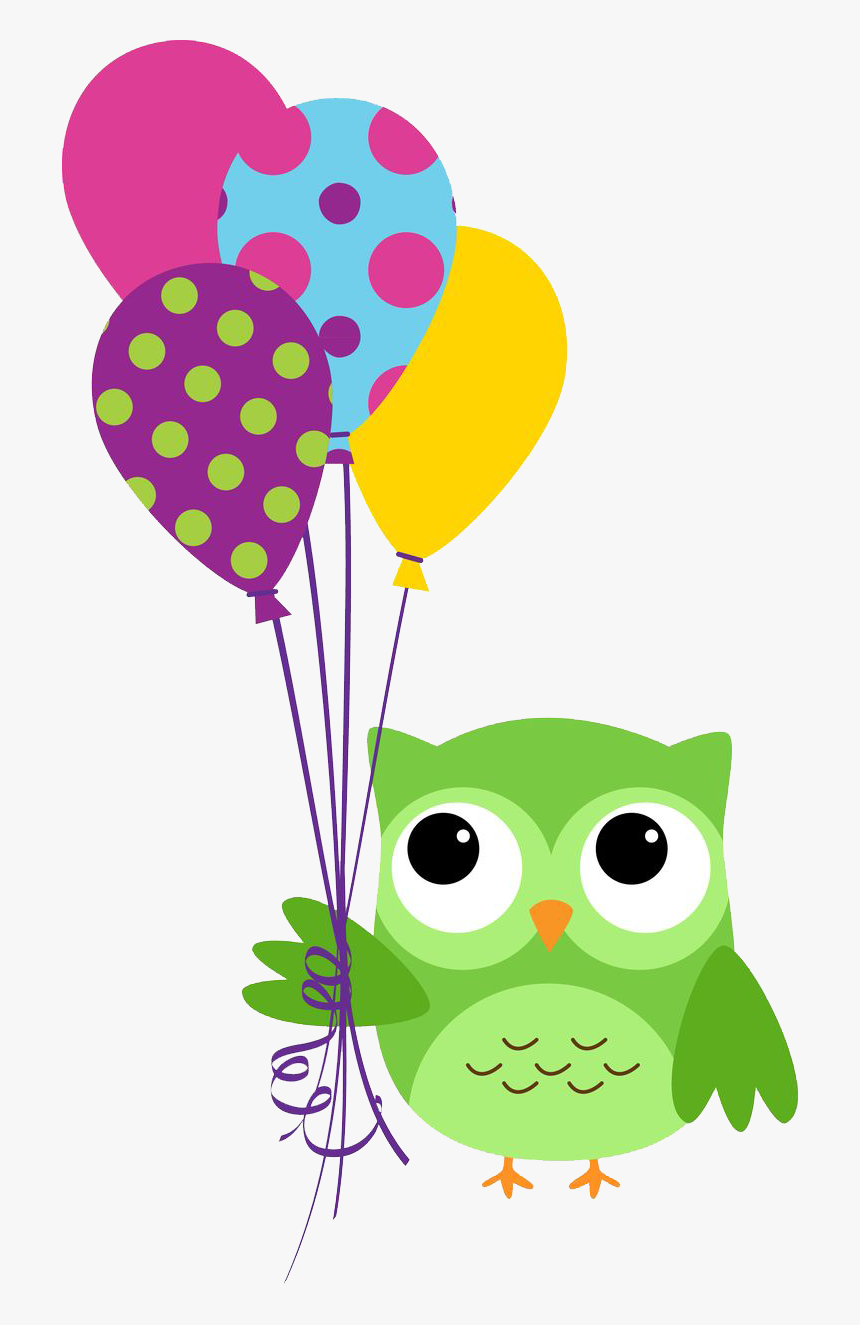 Owl Birthday Clipart, HD Png Download, Free Download