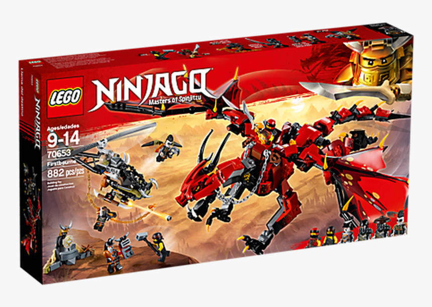 """Lego Toys Lego Ninjago Firstbourne 70653""""  Class= - Lego Ninjago Firstbourne Set, HD Png Download, Free Download"""