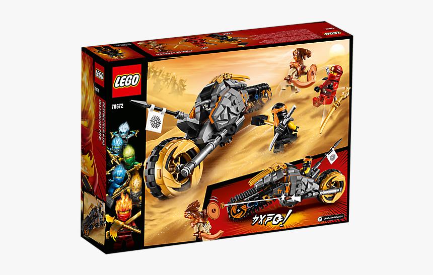 "Lego Ninjago Cole""s Dirt Bike New - Lego Ninjago Coles Dirt Bike, HD Png Download, Free Download"