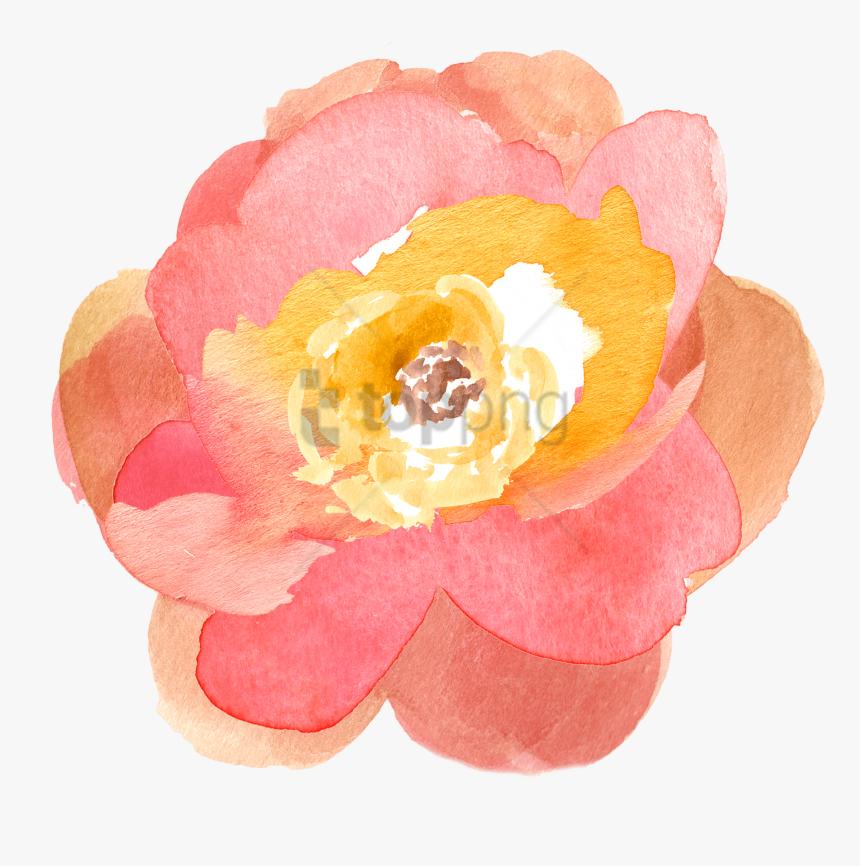 Free Png Download Transparent Watercolor Flowers Png - Free Clip Art Fall Flowers, Png Download, Free Download