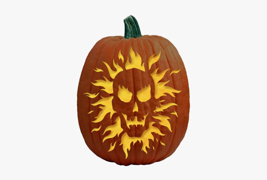 Pumpkin Carving Ideas Skull, HD Png Download, Free Download