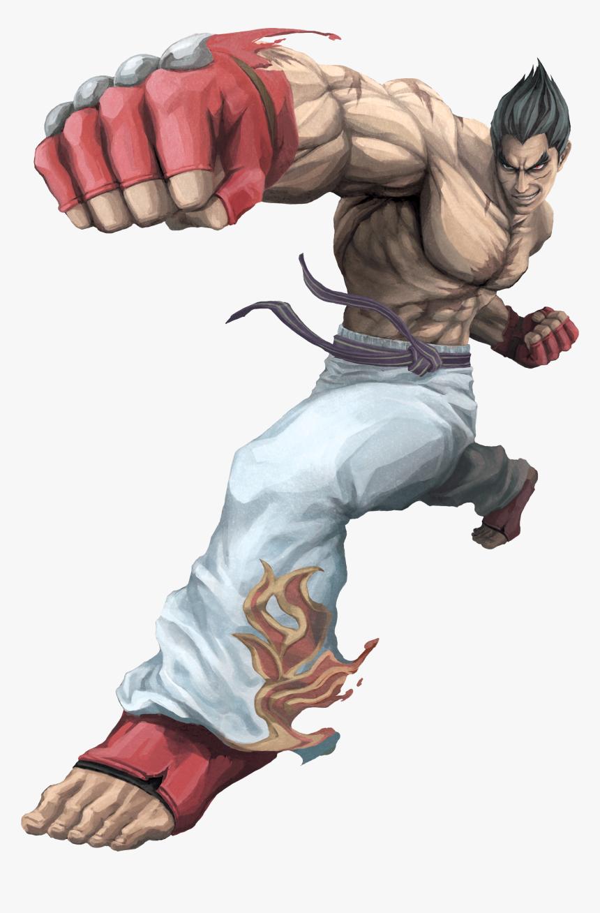 Kazuya Png Png Download Kazuya Tekken 7 Art Transparent Png Kindpng