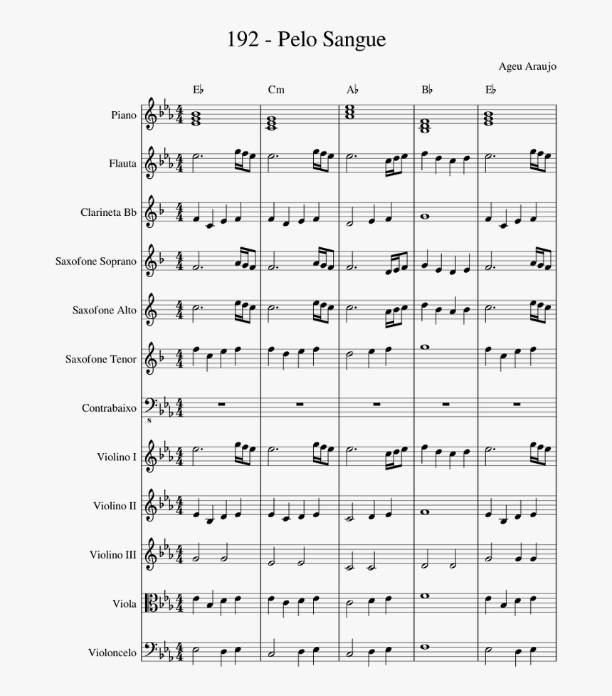Without Me Trumpet Sheet Music, HD Png Download, Free Download