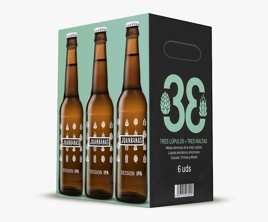 Caja Del Pack De 6 Unidades De Cerveza Artesana - Cajas Venta De Cerveza Artesanal, HD Png Download, Free Download