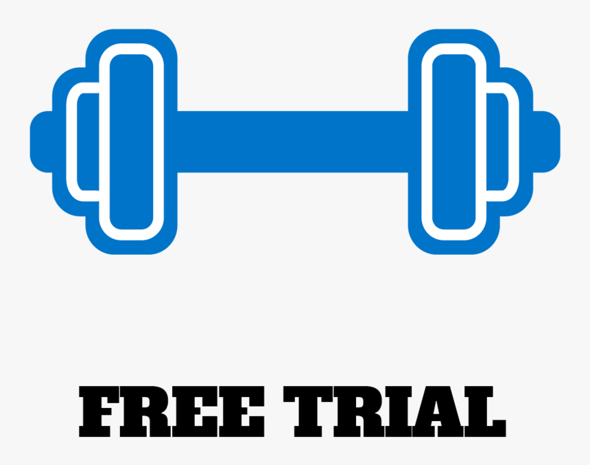 Dumbells - Electric Blue, HD Png Download, Free Download