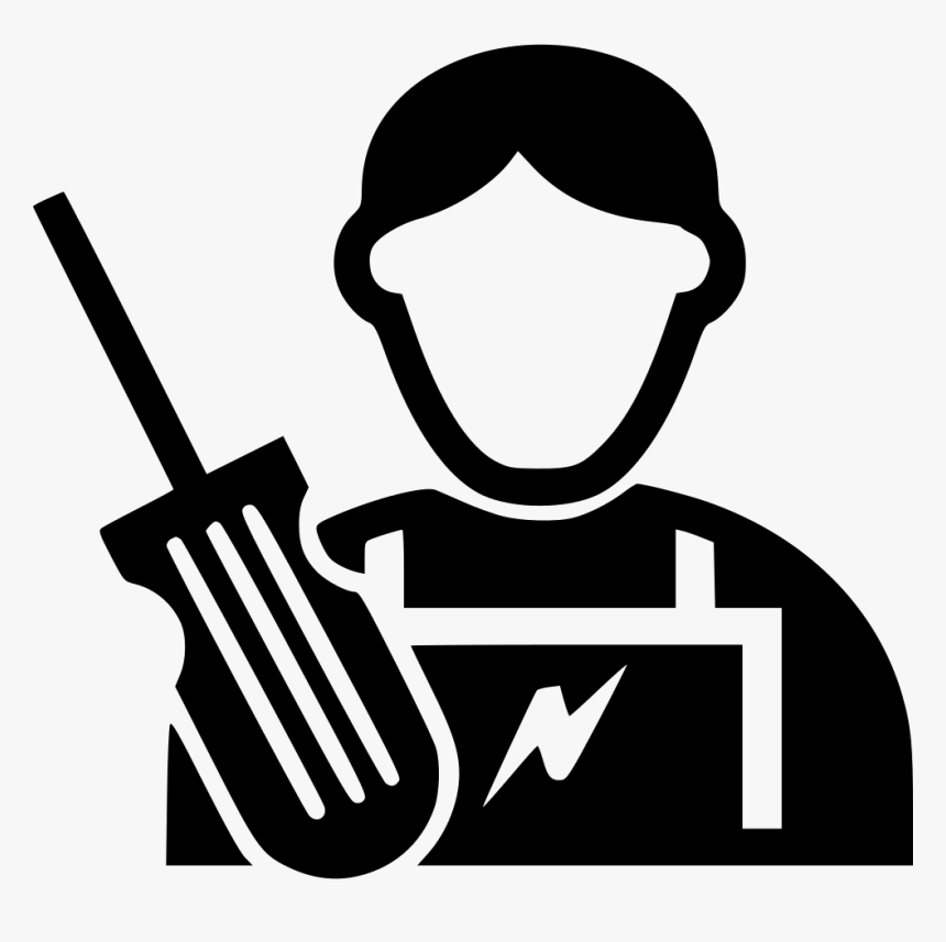 Electrician - Electrician Icon Png, Transparent Png, Free Download
