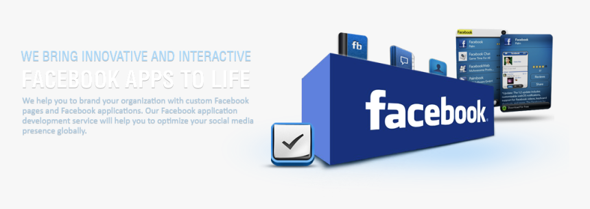 Facebook's Application Development Organized, HD Png Download, Free Download